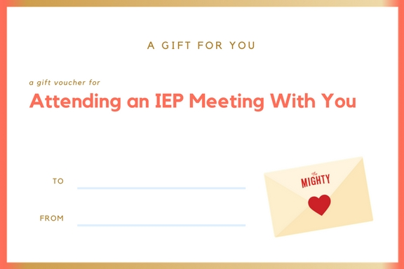 Attending an IEP Meeting With You