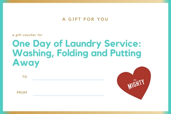 One Day of Laundry Service: Washing, Folding and Putting Away