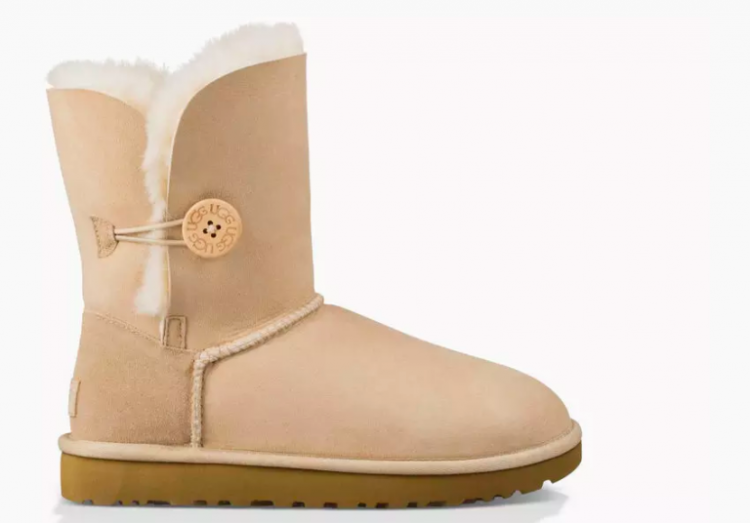ugg boot in tan