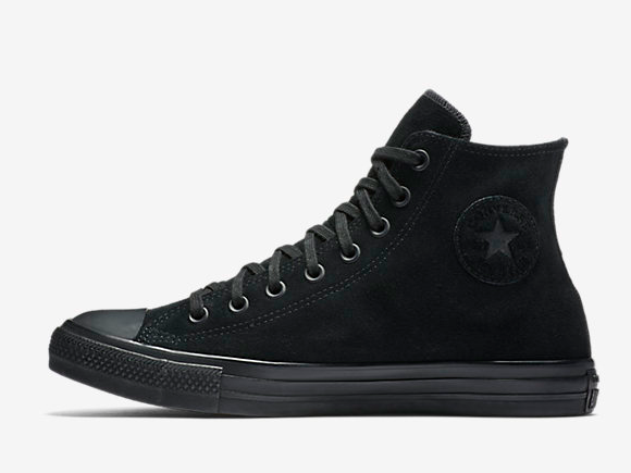 black converse high top