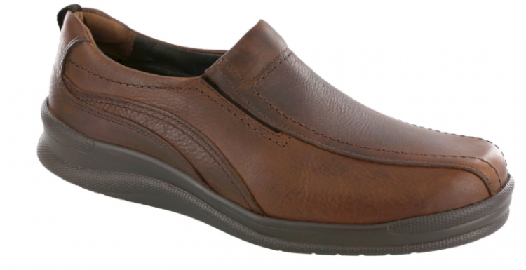 san antonio shoemakers brown no lace shoe mens