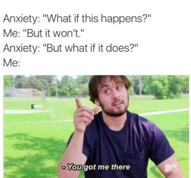20 Common Symptoms Of Anxiety — As Told By Memes