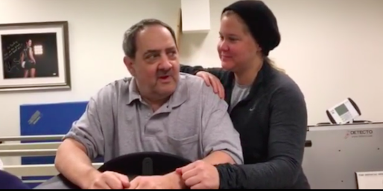 Amy Schumer Shares Video of Dad\u0027s Multiple Sclerosis Treatment ...
