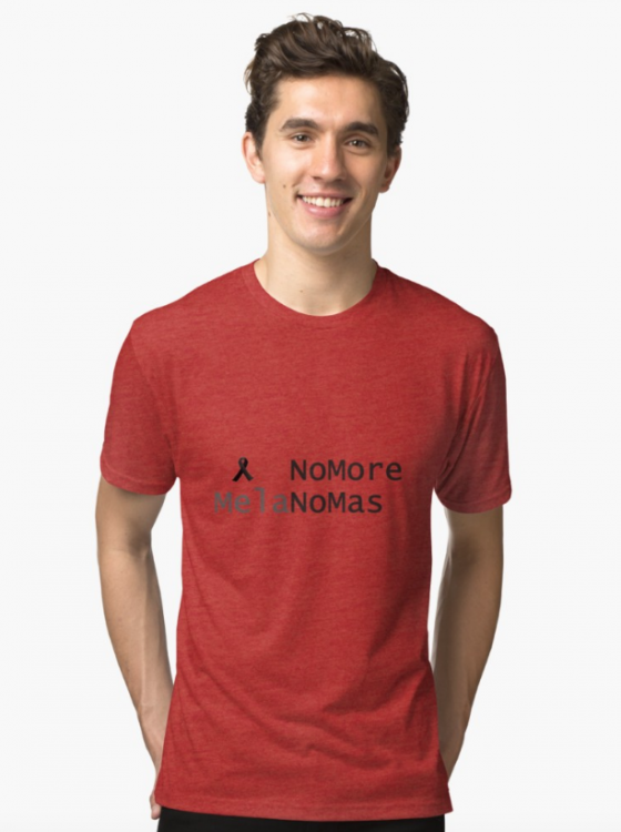 no more melanomas shirt