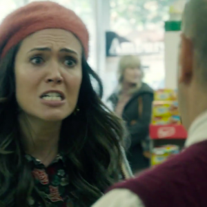 rebecca from this is us crying in the grocery store