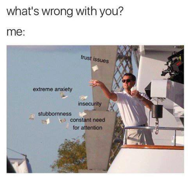 what's wrong with you meme