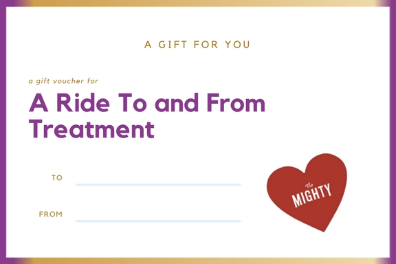 treatment cancer gift voucher