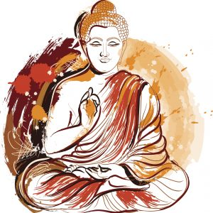 painting of a buddha