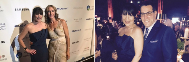 woman at the global lyme alliance gala in new york