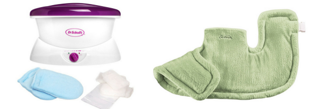 paraffin wax spa kit and heat wrap for neck and shoulders