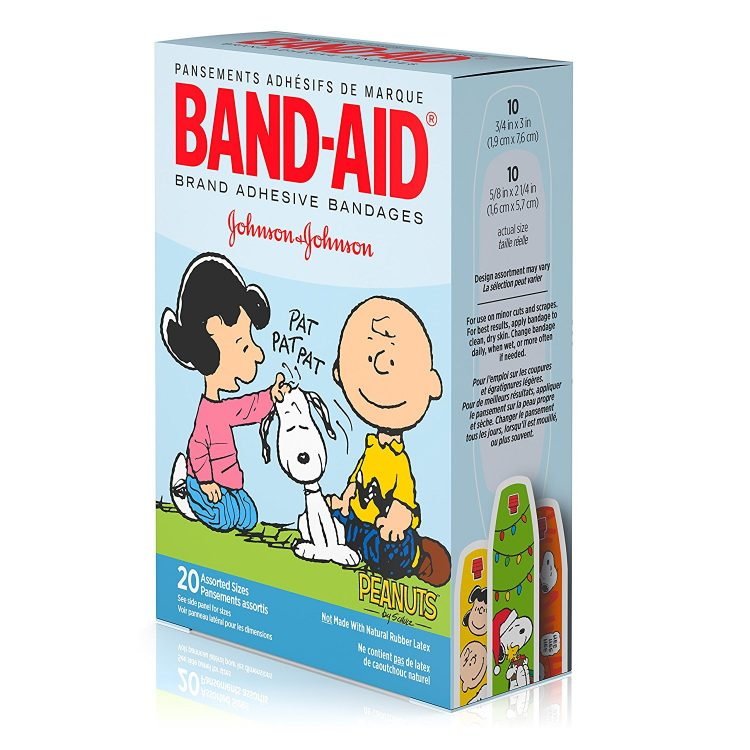 peanuts bandaids