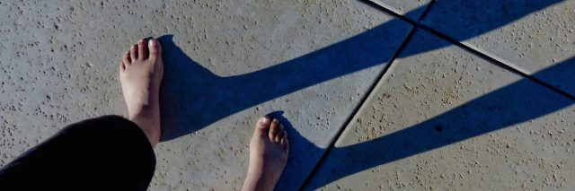 shadows from the foot