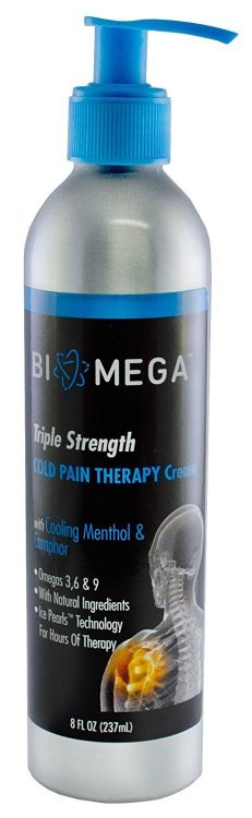 biomega triple strength cold pain therapy cream