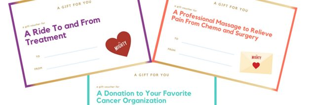 cancer gift voucher feature