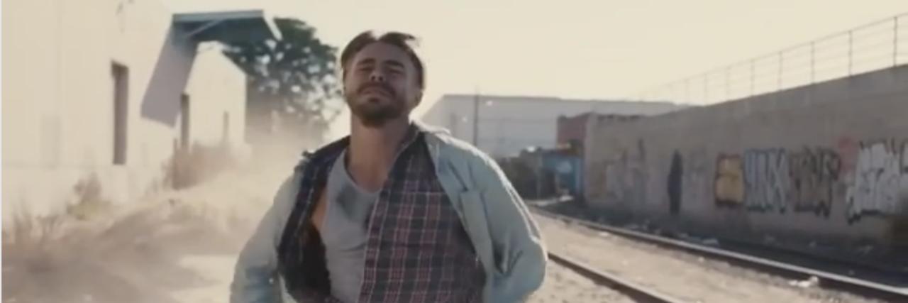"""Derek Hough in """"Hold On"""" music video"""