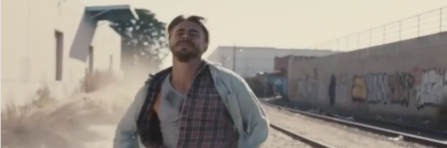 "Derek Hough in ""Hold On"" music video"