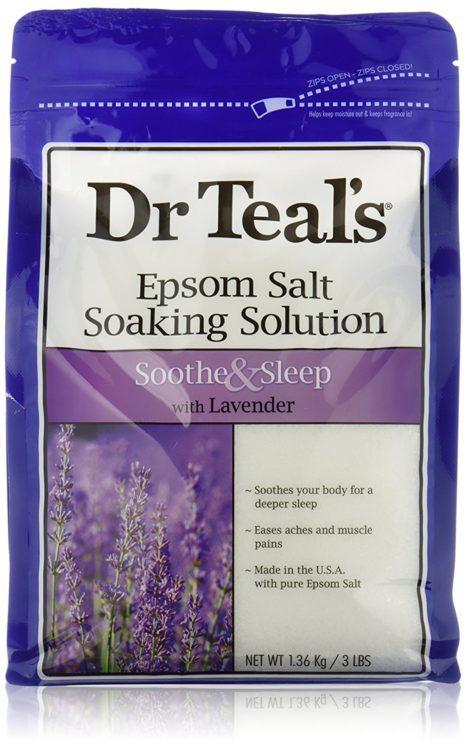 epsom salt with lavender