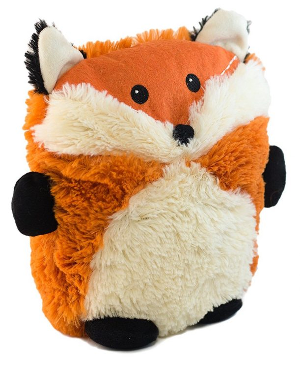microwaveable plush fox