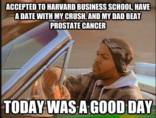 good day prostate cancer meme