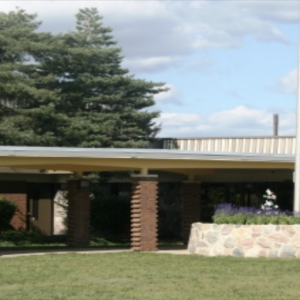 Exterior of High Point School
