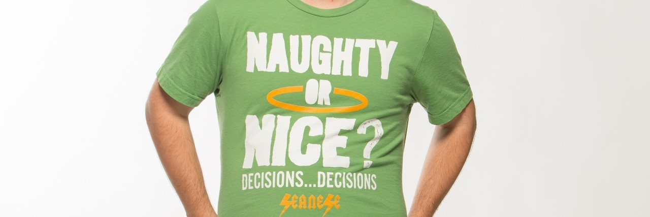 """""""Naughty or nice? Decisions...decisions."""""""