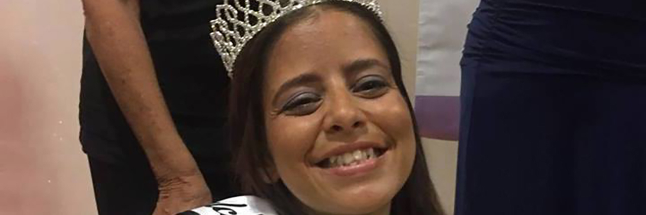 Kat Magnoli crowned Ms. Wheelchair Florida.