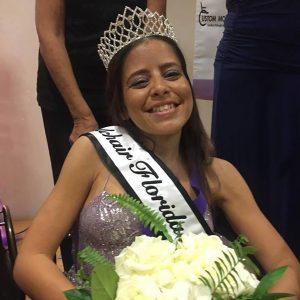Kat Magnoli crowned Ms. Wheelchair Florida.