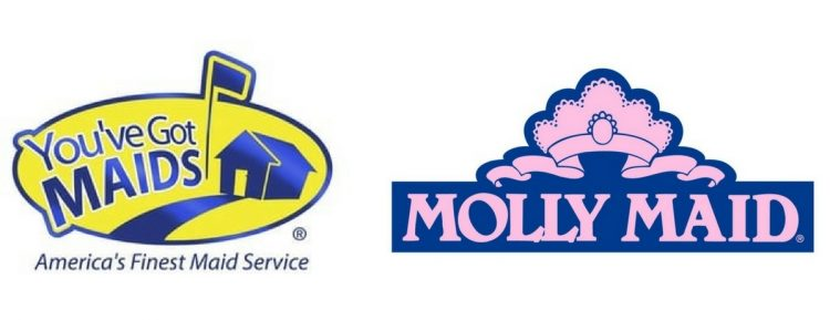 youve got maids and molly maid logos