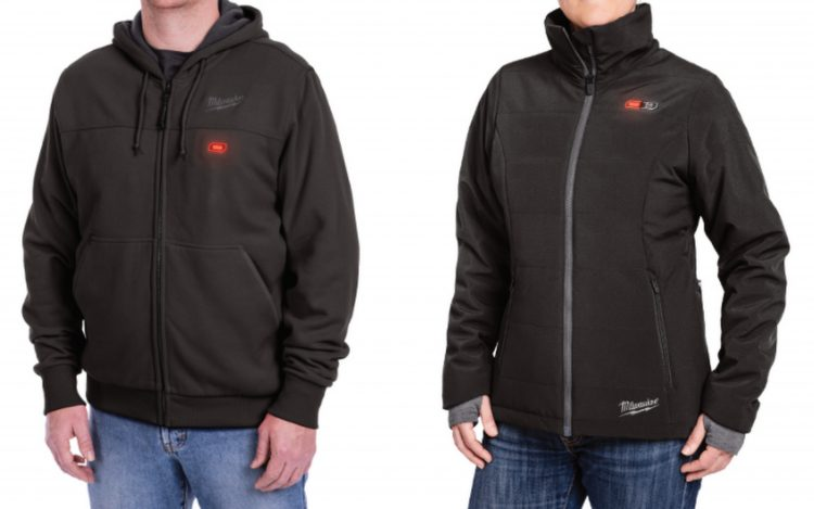 milwaukee heated hoodie and jacket