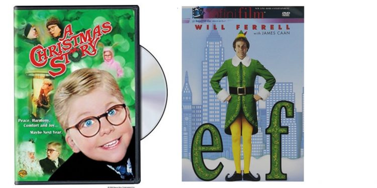 A Christmas Story and Elf