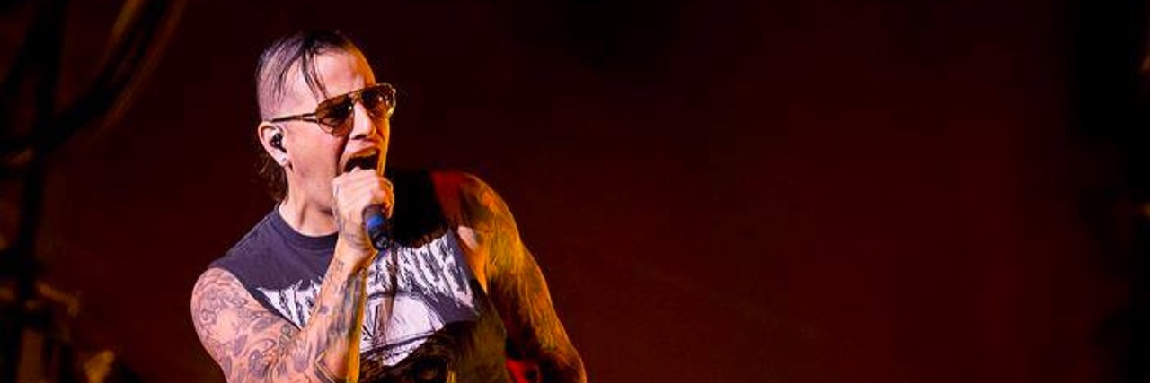 M Shadows of Avenge Sevenfold