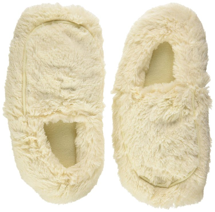 microwavable plush slippers