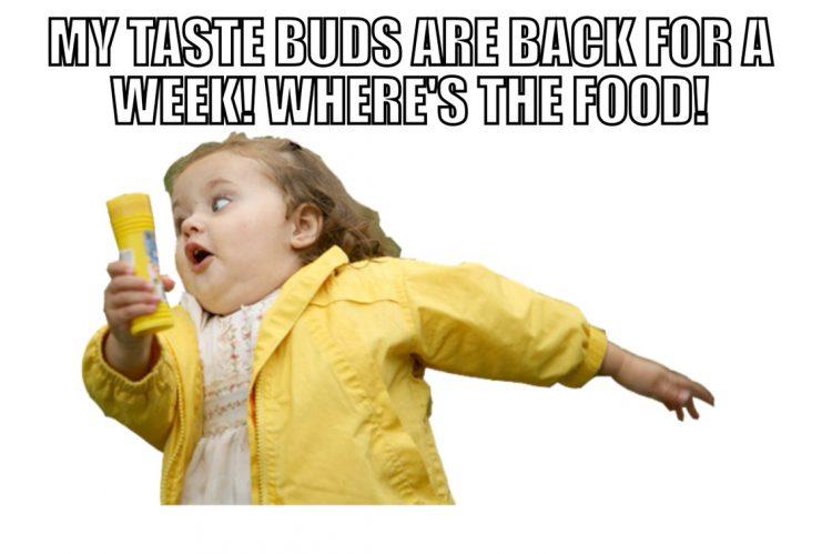 taste buds back chemo meme