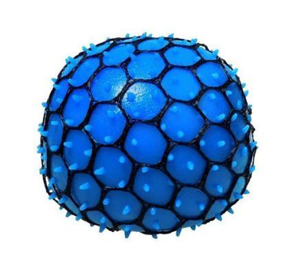 blue stress ball