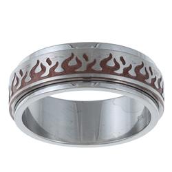 metal spinner ring