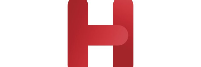 letter H in red