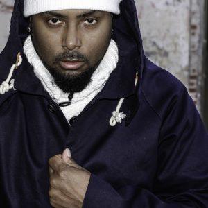 rapper donny goines looking at camera