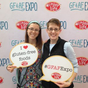 two women at the gluten free expo