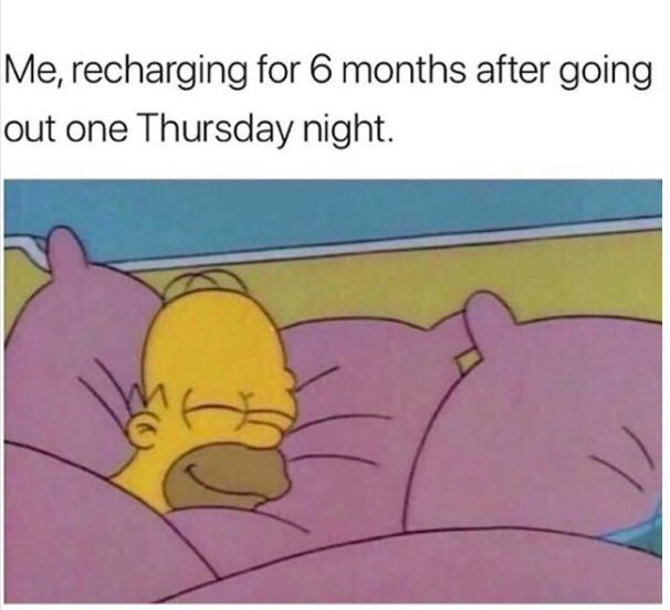 recharging for 6 months after going out