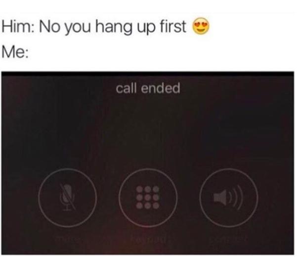 hang up meme