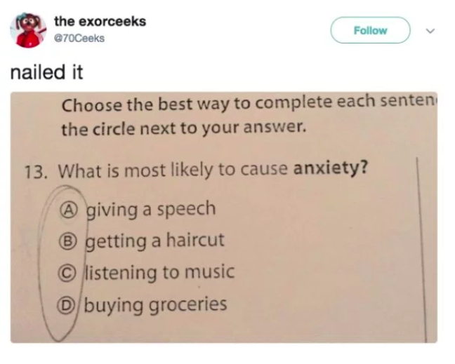 what gives you anxiety memes