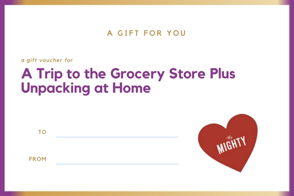 grocery store cancer gift voucher