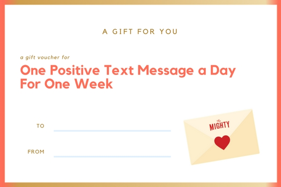 positive text message cancer voucher