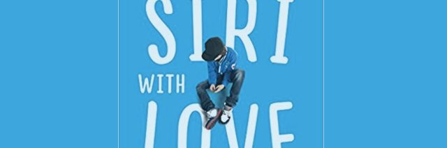 "Blue book cover which reads ""To Siri With Love"""