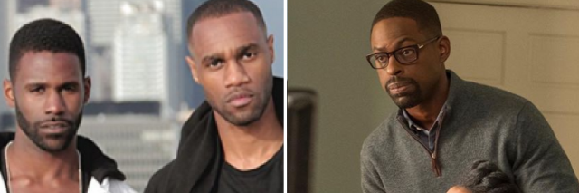 photos of black TV actors from TV series