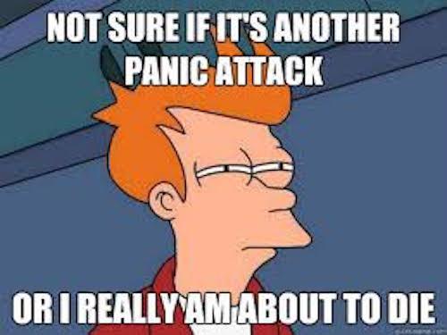 panic attack meme