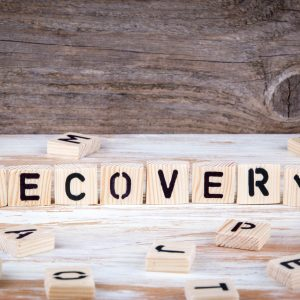 eating disorder recovery on scrabble letters