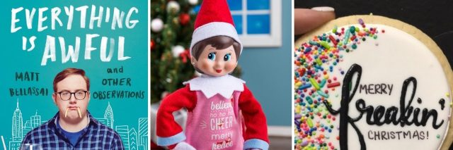 Matt Bellassai, Elf on the Shelf and a Christmas Cookie