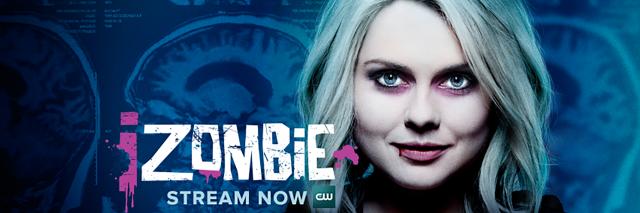 iZombie TV show poster.