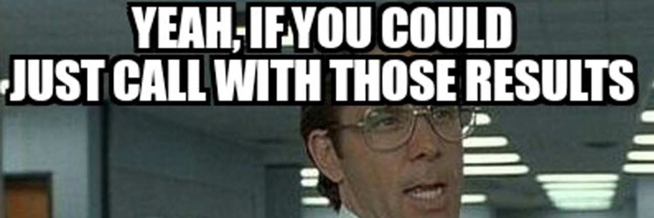 office space test results meme feature